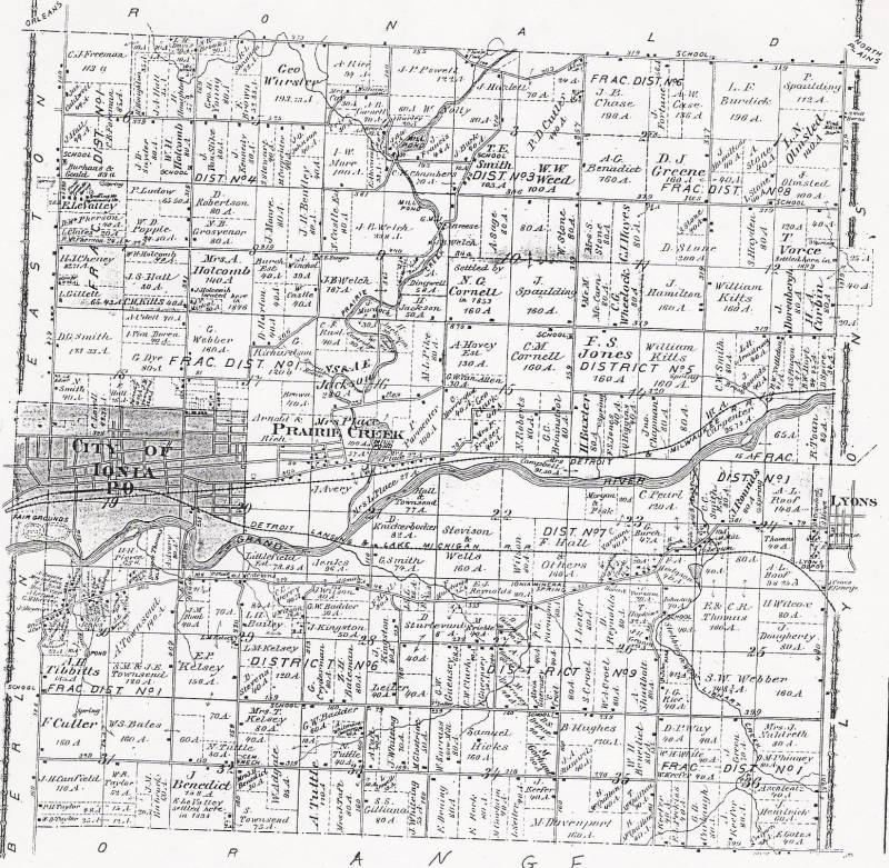 1875 Ionia County Plat Maps